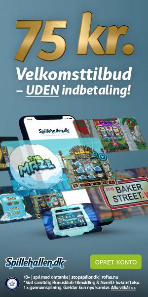 Spillehallen velkomsttilbud